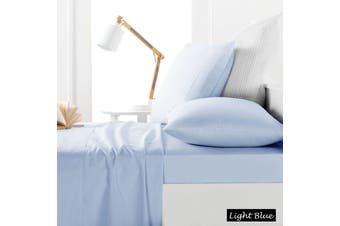 225TC Sheet Set Light Blue - King