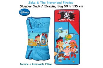 Disney Jake & The Neverland Pirates Slumber Sack/ Sleeping Bag