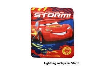 Polar Fleece Throw Rug Lightning McQueen Storm