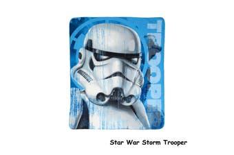 Polar Fleece Throw Rug Storm Trooper