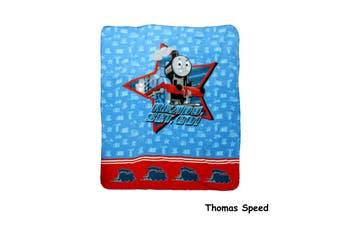 Polar Fleece Throw Rug Thomas Speed