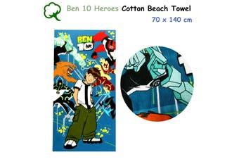 Ben 10 Heroes 100% Cotton Bath / Beach Towel