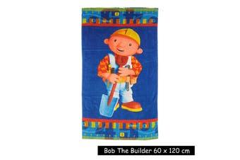 Kids Licensed Bob The Builder Beach Towel by Disney
