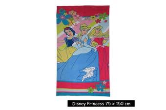 Kids Licensed Disney Princess Beach Towel by Disney