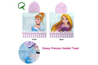 Cotton Hooded Towel Disney Princess by Disney