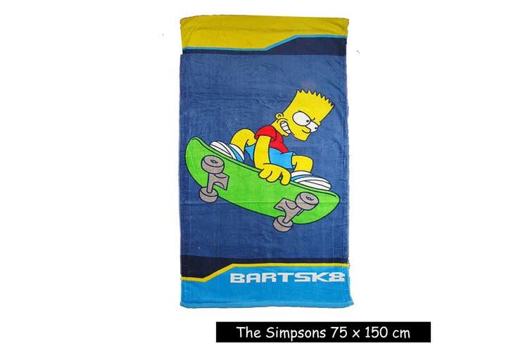 Kids Licensed The Simpsons Beach Towel by Disney