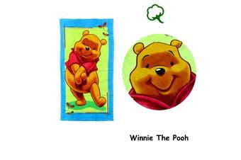 Cotton Bath / Beach Towel Winnie The Pooh by Disney