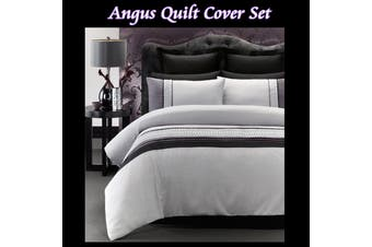 Angus Quilt Cover Set DOUBLE