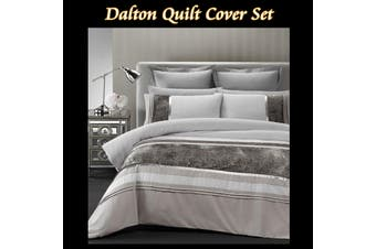 Dalton Quilt Cover Set DOUBLE