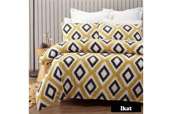 Ikat Quilt Cover Set DOUBLE