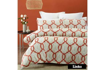 Links Quilt Cover Set SINGLE