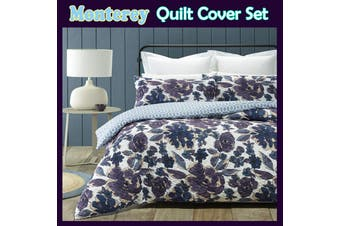 Monterey Quilt Cover Set DOUBLE