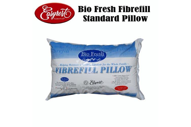 Bio Fresh Fibrefill Standard Size Pillow by Easyrest
