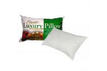 Luxury Range Sateen Cover Firm Profile Standard Pillow by Easyrest
