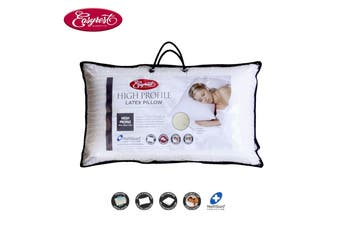Latex Pillow High Profile 65 x 40 x 14 cm by Easyrest