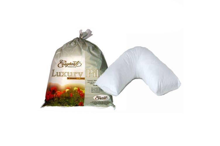 Luxury Range V Shape Pillow by Easyrest