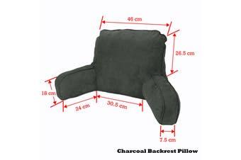 Standard Backrest Pillow Charcoal by Easyrest