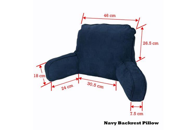 Standard Backrest Pillow Navy by Easyrest