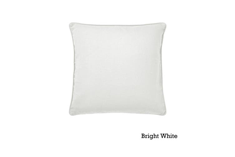 Lara Cushion Cover Bright White by Hoydu