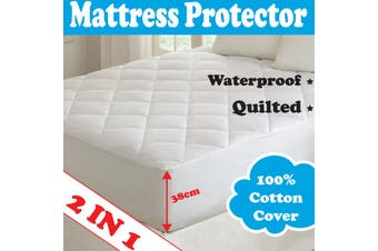 2 IN 1 Mattress Protector - DOUBLE