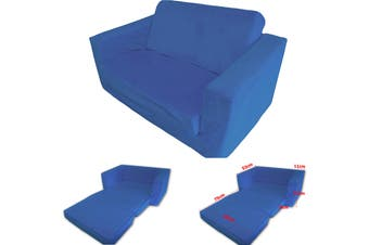 FLIP OUT Kids Sofa BLUE
