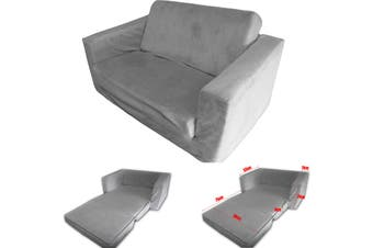 FLIP OUT Kids Sofa GREY