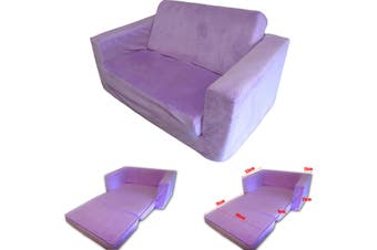 FLIP OUT Kids Sofa PURPLE
