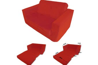 FLIP OUT Kids Sofa RED