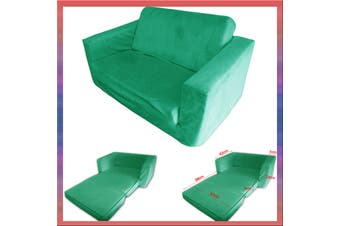 Kids Flip Out Sofa GREEN Small