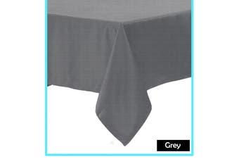 Polyester Cotton Tablecloth Grey 180 x 180 cm