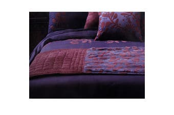 Utopia Purple Bed Runner by Accessorize by Accessorize