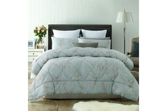 3 Pce Jacquard Comforter Set Fleur QUEEN by Accessorize