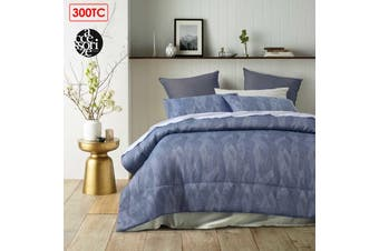 Java Navy Comforter Set King