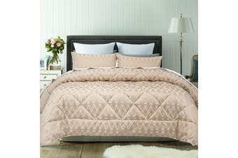 Living Gold Comforter Set Queen by Accessorize