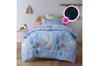 Swan Comforter Set Double