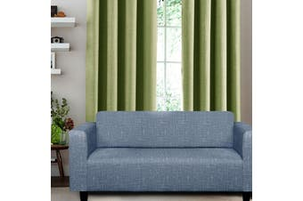 Easy Fit Sofa Cover 3 Seater Blue  (Also Known as Navy) by Home Innovations