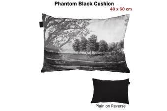 Phantom Black Filled Cushion