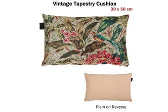 Vintage Tapestry Filled Cushion