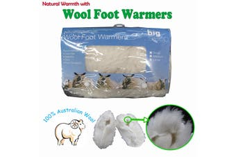 Wool Foot Warmers by Big Sleep