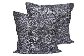 2 Pce LEOPARD European Pillowcase