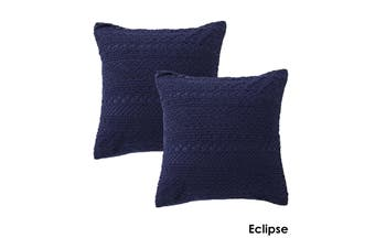 Pair of European Pillowcases Tenille Eclipse