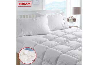 400gsm Duck Feather & Down Quilt Double