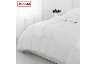 500gsm Microfibre Quilt with Polyester Cover by Cloudland