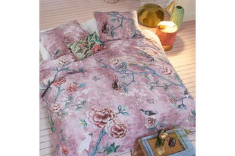 Armelle Pink Quilt Cover Set King