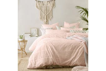 Betty Blush Quilt Cover Set King