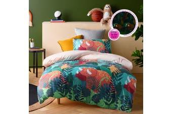 Big Dinosaur Quilt Cover Set Double
