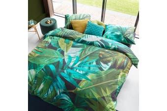 Botany Green Quilt Cover Set King
