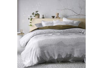 Bulla Silver Quilt Cover Set Super King