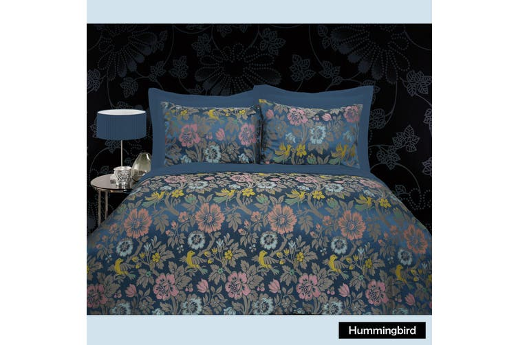Hummingbird Quilt Cover Set - Queen by Grand Aterlier