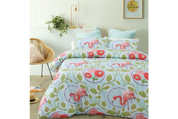 Lila Multi Quilt Cover Set King